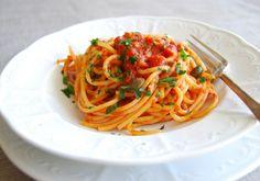 Spaghetti Napoli, Italy.