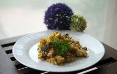 Experimente aus meiner Küche: Zucchini-Reis-Hack-Pfanne