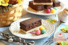 Diós csokoládés habszelet Food And Drink, Pudding, Sweet, Candy, Custard Pudding, Puddings, Avocado Pudding
