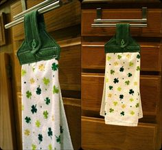 For my birthday and Christmas, my mom will sometimes buy me cute hand towels for the kitchen. Every once in a while she'll pick up a holida...