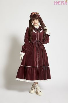 Misako Aoki in Metamorphose temps de fille - Olivia Velveteen OP