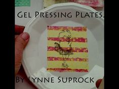 Put Your Artwork On A Plate With Gel Press