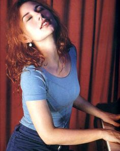 Tori Amos and her piano - I've never watched a musician play and feel so deeply moved as I do when I watch Tori play her piano. It's more than music to her.