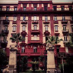 Palazzo Leonetti  Giulio Ulisse Arata Liberty Napoli