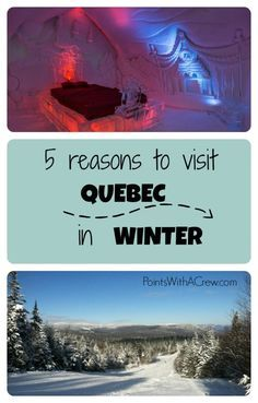 Here are 5 activities if you're looking for fun things to do in Quebec City in the winter.  Visit the carnival, the old town, an ice hotel or ...