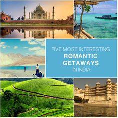 Five most Romantic Getaways in India