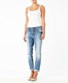 Gina Tricot - Lea boyfriend jeans Lt blue (5150)