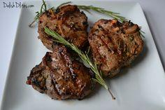 Garlic & Rosemary Lamb Chops   Delish D'Lites
