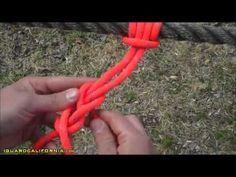 Army Ranger School Basics:  Knots - The Prusik Knot  #3
