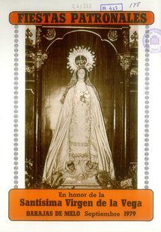Fiestas patronales en Barajas de Melo (Cuenca), en honor de la Virgen de la Vega. Del 30 de agosto al 7 de septiembre de 1979.  #Fiestaspopulares #BarajasdeMelo #Cuenca