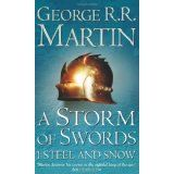 "Book 3 of ""A Song of Ice and Fire"" - great book series!"