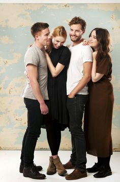 Jamie Dornan and the rest of the cast of New Worlds pose for The Guardian December 2013. Photographed by Linda Nylind. everythingjamiedornan.com http://www.facebook.com/everythingjamiedornan