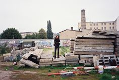 Remains of the Berlin Wall, 1994