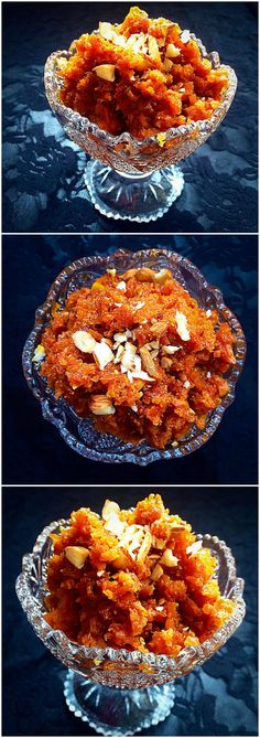 Gajar (Carrot)  ka Halwa - A traditional Pakistani dessert recipe @ fatimacooks.net