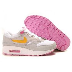 reebok traintone avis - Nike Air Max 1 Brown Pink Blue Women's Sneakers . nice womens ...