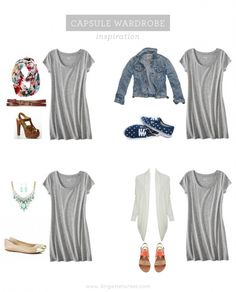Stitch Fix Stylist:  I'm really loving this heather grey t-shirt dress to style many different ways on the weekend!  -Louisa
