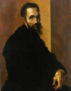 Michelangelo Buonarroti self portrait