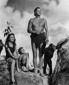 Saturday mornings EARLY!!! Tarzan avec Johnny Weissmuller