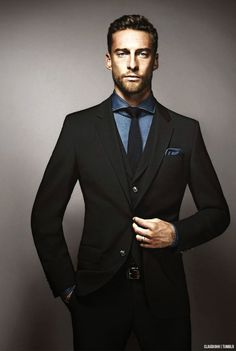 Nothing like a man in a suit