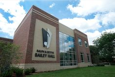 Ralph and Bettye Bailey Hall is the home to Purdue Musical Organizations (PMO) and features rehearsal space, offices, a music library and a student lounge and study area. Dedication 10/10/14. The facility located on the southeast corner of Grant Street and Northwestern Avenue. (Purdue University/Steven Yang)