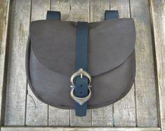 1 Viking piel bolsa elegir tu bolso Cuero de la por FolkOfTheWood