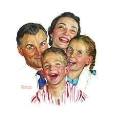 Image result for the greatest joys by norman rockwell