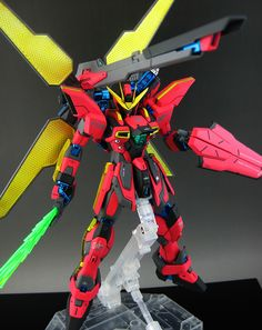 MG 1/100 Gundam X Maoh - Customized Build