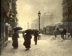 Winter in Belgium, 1920s