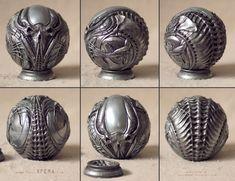 ArtStation - Alien Artifact - 3D print - painted, Abner Marin