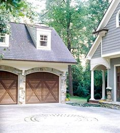 Elegant Doors for Garage Entry