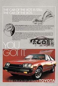 1979 Toyota Celica - my first car