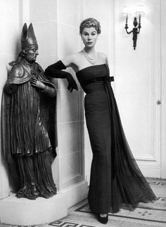 Gown by Jacques Fath, 1952