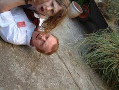Behold The Real Photo Nick Frost Took While Shooting Shaun Of The Dead