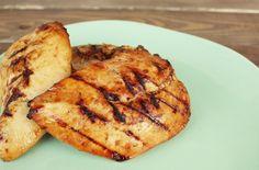 Pineapple Teriyaki Italian Marinated Grilled Chicken