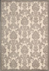 GIL03, Ivory, Machine Made, Nourison Sale, Brocade available from rugsdoneright.com