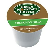 Green Mountain French Vanilla 108 KCups  12 Bonus KCups >>> You can find more details by visiting the image link.