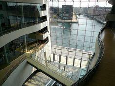 The Royal library Black Diamond in Copenhagen