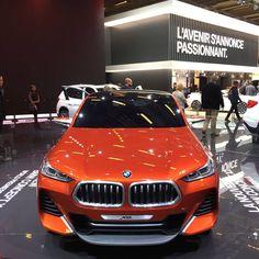 BMW France a présenté en première mondiale son nouveau Concept X2 #MondialAuto  Crédits photo : Bitton