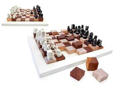 Terrain alterable chess set by Tonfisk