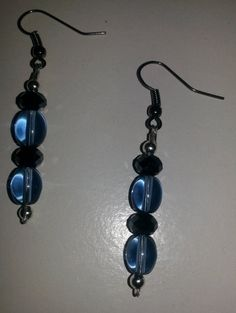 Check out this item in my Etsy shop https://www.etsy.com/listing/250725390/blue-splendor-dangle-earrings