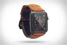 APPLE WATCH LEATHER STRAP | BY NOMAD