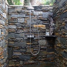 Ive always dreamed of an outside shower, nothing fancy, but there is something about the refreshing outdoors and a private shower :)