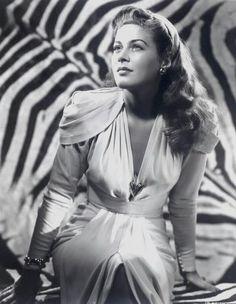 1940s actress and pin-up girl Ramsey Ames