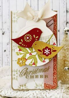 Christmas Cheer Tag by Melissa Phillips for Papertrey Ink (October 2014)