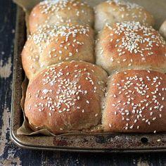 Multigrain Buns/Rolls with Spelt Rye Kamut Sorghum Barley. Vegan Recipe | Vegan Richa