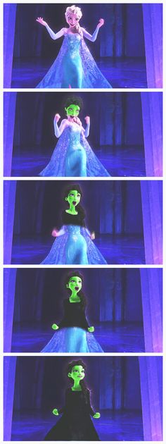 Yes! Frozen to Wicked