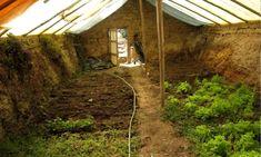 Une serre enterrée pour des légumes toute l'année - Détours