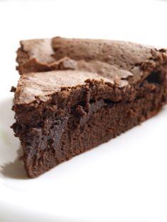 Moelleux à coeur au chocolat (ou le meilleur gâteau au chocolat ...)