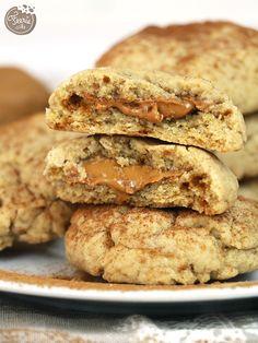 A l'heure du thé, les lutins Féerie Cake vous mettent au défi de ne pas craquer pour ces #cookies ! #spéculoos #snickerdoodles
