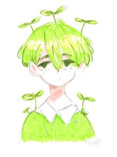 Grass by OHnahs. on - Doodle Bop - Cool Art Drawings, Kawaii Drawings, Art Drawings Sketches, Cute Art Styles, Cartoon Art Styles, Wallpaper Animes, Arte Sketchbook, Art Reference Poses, Pretty Art